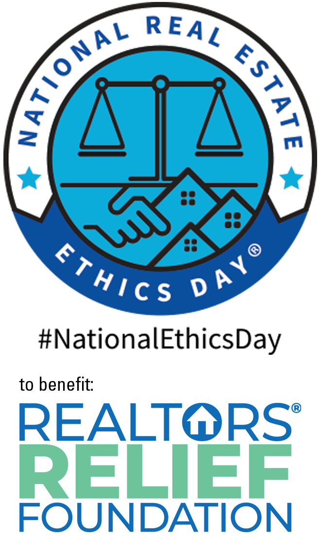 National Real Estate Ethics Day® benefits REALTORS® Relief Foundation logo